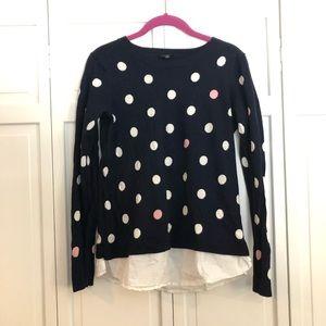 Talbots size small polka dot sweater